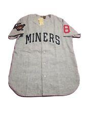 Ebbets Field Flannels EFF X Diamond Supply Co. Miners Flannel Jersey Men's Sz. M