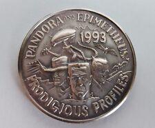 1993 Pandora Epimetheus Coin Alien Freddy Krueger Frankentsein Dracula