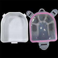 Nail Art SPA Soak Bowl Manicure Cuticle Treatment Tool Acrylic Tips Salon Supply