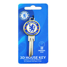 CHELSEA FC CLUB CREST 3D BLANK DOOR KEYS KEY NEW SOUVENIR GIFT XMAS