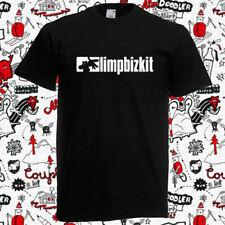 New Limp Bizkit Simple Logo Rap Rock Band Mens Black T-Shirt Size S to 5Xl Funny