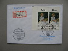 GERMANY BRD, R-cover FDC 1978, pair Max Slevogt, painting ao cat