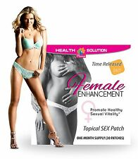 Female Libido - Female Enhancement Patches (1 Pack, 30 Patches)