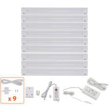 "Lightkiwi B1551 Lilium 12"" Cool White LED Under Cabinet Lighting - 9 Panel Kit"
