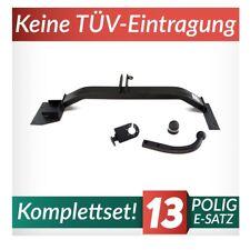 Für Daewoo Lanos 3//5-Tür Fließheck 97-03 Anhängerkupplung starr+ES 7p uni AHK