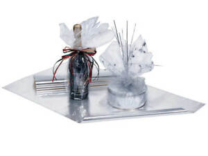 CLEAR Cellophane Cello Sheets Choose Size & Package Amount