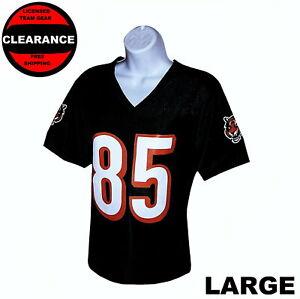 Nfl Womens Apparel * Cincinnati Bengals Ladies Nfl Player Team Jersey, nwt, LG