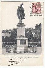 CARTE POSTALE ITALIE TORINO PIAZZA CARLO FELICE MONUMENTO A MASSIMO D AZEGLIO