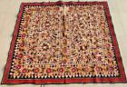 """63"""" x 54"""" Vintage Rabari Throw Embroidery Ethnic Tapestry Tribal Wall Hanging"""