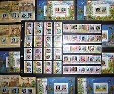 Timbres avec 5 timbres sur royauté