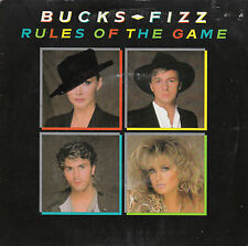 "7"" 45 TOURS UK BUCKS FIZZ ""Rules Of The Game / When We Were At War"" 1983"