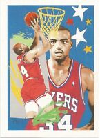 Charles Barkley Hoops 1990/91 - NBA Basketball Card #374