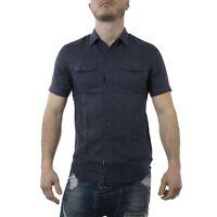 Replay Camicia Uomo Col Blu tg varie | NUOVA COLLEZIONE S/S 19 |