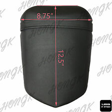 US Stock Pu Leather Passenger Rear Seat Pillon Cover For Yamaha 2004-2006 YZF R1