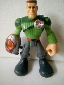 MAJOR POWERS - 2002 Star Squad 6 inch Hasbro Action Figure