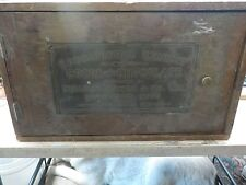 Antique Walter Baker Co Educational Exhibit Cocoa And Chocolate Box