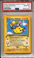 Pokemon 2000 World Collection Flying Pikachu PSA GEM MINT 10!