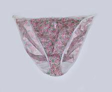 Secret Treasure, Vintage New Floral Sheer Bikini Panty