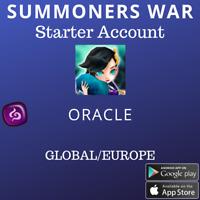 Summoners War Dark Oracle Giana Starter Account