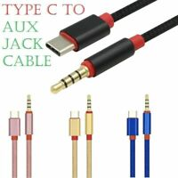 Type-c to 3.5mm Audio Aux Cable,3.5mm Male to USB-C Male Stereo 3.5mm Jack