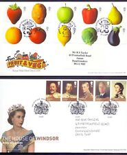 Nice Lot of 6 First Day covers from the 2000's Fun Fruit  Veg  etc    (ZB1)