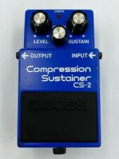 More details for boss cs-2 (cs2) compression sustainer guitar pedal, vintage made in japan 1986
