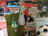 European/Uefa Football Comp. Programmes *Choose from list* Discount Available!