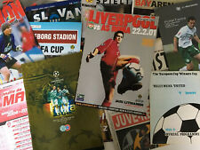 More details for european/uefa football comp. programmes *choose from list* discount available!
