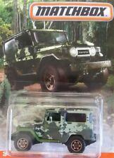 Matchbox Camouflage/Camo Series Toyota Land Cruiser FJ40 - DVL49 HTF 4X4