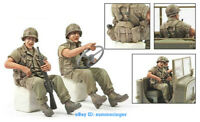 1/35 Scale Tank Crew Soldier US Army Figure Unpainted Resin Model Kits