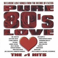 Pure 80's Love - The #1 Hits by Various Artists (CD) Good Condition.