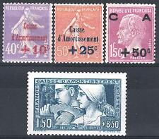 FRANCE ANNEE COMPLETE 1928 YVERT 249 / 252 , 4 TIMBRES NEUFS xx LUXE  M898B