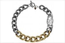 GUESS  UFN70710  massive Damen Kette Halskette Edelstahl Silber Gold 43 cm NEU