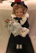 "17"" SHIRLEY TEMPLE LIMITED EDITION COLLECTOR 75TH BIRTHDAY DANBURY MINT DOLL- re"