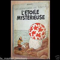 Tintin L'étoile Mystérieuse Album collection Hergé B1 Casterman BD collection