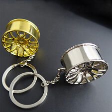 Creative Wheel Hub Metall Car Schlüsselanhänger Style Key Chain Key Ring heiß