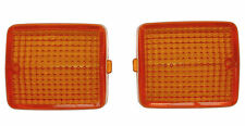 Honda CB250 'two-fifty' indicator winker lens, pair, front or rear (1992-2003)