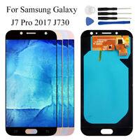 Borde Curvo Para Samsung Galaxy J7 Pro 2017 J730F J730M/H Pantalla Tactil LCD RH