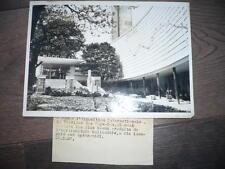 PHOTO DE PRESSE 1937 PAVILLON DES PAYS-BAS A L'EXPOSITION INTERNATIONALE