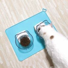 Pet Feeding Silicone Food Mat Dog Place-mat Feeder Food Water Drinking Dogs Tray