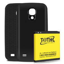 TQTHL A+ 6200mAh Extended Battery + Cover For Samsung Galaxy S4 SIV i9500