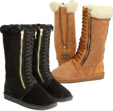 Originals Ugg Australia Sheepskin Zip Lace Long Boots 4 5 6 7 8 9 10 Mens Womens
