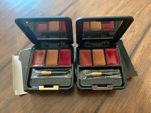 Two Mary Kay The Perfect Present LIP COLOR COMPACT ~ Discontinued 3032