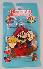 1988 1989 Mario Nintendo of America ACE Keychain New Sealed NES era RARE