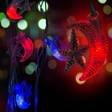 Crescent Moon And Star LED Light Decoration Christmas Xmas