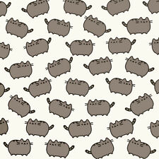 Pusheen Gift Wrap Wrapping Paper Official Crazy Cat Lady Cute Emoji Emoticon