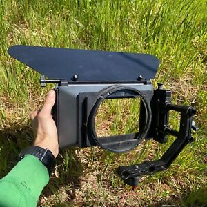 3-stage Swing-away matte box 4x5.6(fits 15mm rods) with brow