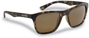 Flying Fisherman Fowey Polarized Sunglasses Tortoise Frames/Amber Lenses 7837TA