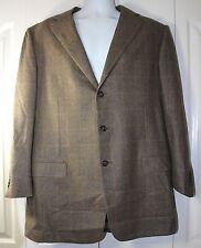 Ermenegildo Zegna Su Misura TAILORED 46L Pure Cashmere 3 Button Blazer