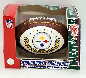 NFL Pittsburgh Steelers Touchdown Treasures Collectible Ornament